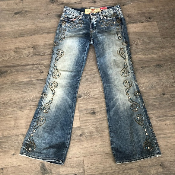 7 For All Mankind Denim - 7 for all Mankind The Great China Wall Jeans